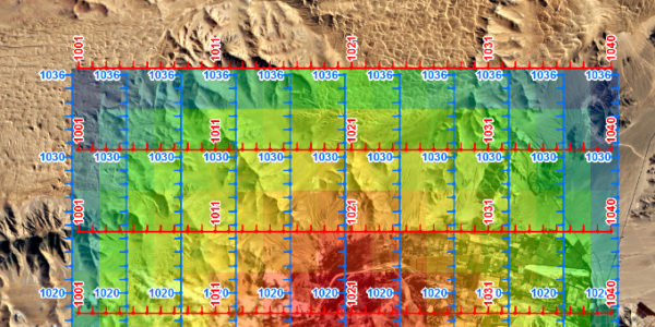 Spatial Data Analysis Focused on Seismic Industry
